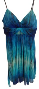 Ruby Rox short dress Blue/Teal on Tradesy