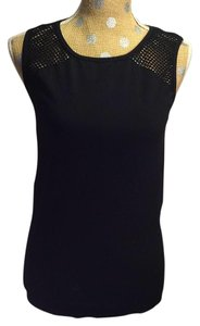 Fabletics Fabletics Black Mesh Tank Top