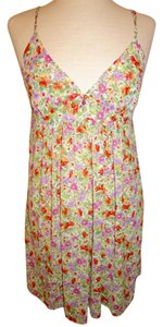 Oscar de la Renta short dress Multicolor Floral Pattern Flower on Tradesy