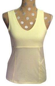 Athleta Athleta Soft Yellow Tank Top