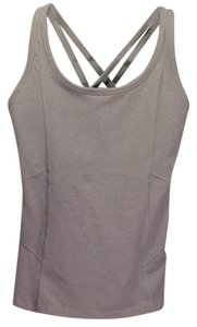 Athleta Athleta Gray Activewear Tank with Built in Bra