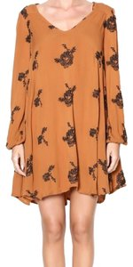 Free People short dress Rust on Tradesy