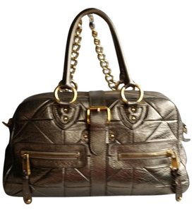 Marc Jacobs Satchel in Pewter