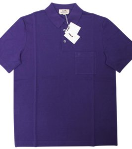 Hermès T Shirt Dark Purple