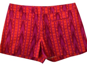 Gap Flat Front Shorts Red Pink Orange