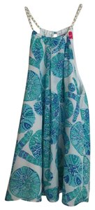 Lilly Pulitzer for Target Top Blue/green/white