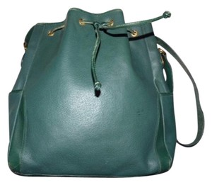 Gucci Equestrian Accents Satchel in Green