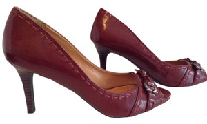Etienne Aigner Burgandy Pumps