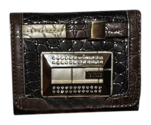 Guess Faux Alligator Skin Wallet
