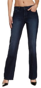 NYDJ Burbank Wash Womens Boot Cut Jeans-Medium Wash