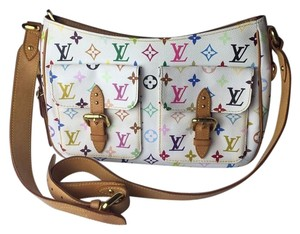 Louis Vuitton Lv white Messenger Bag