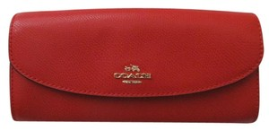 Coach Coach F52628 Crossgrain Leather Pop Small Envelop WALLET
