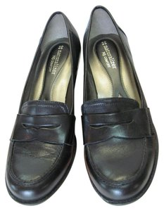 Naturalizer Size 9.50 M Leather Black Pumps