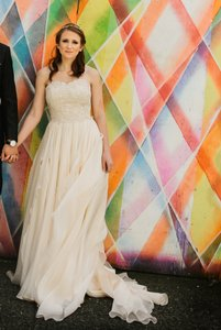 Modern Trousseau Fawn Wedding Dress