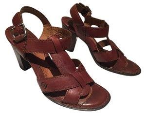 Børn Open Toe Leather Comfortable Brown Sandals