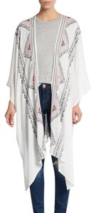Steve Madden Kimono Multi Color Coverup Cover Up Cape