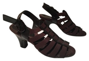 Aerosoles Fabric Chocolate Brown Sandals