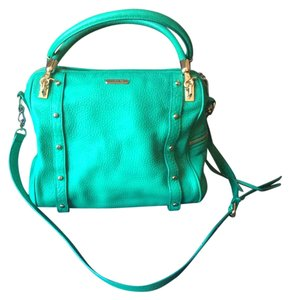 Rebecca Minkoff Satchel in bright green