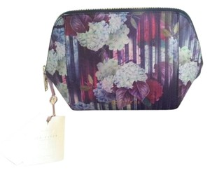Ted Baker Ted Baker XL Wash Bag NWT-Hydrangea Haze 10-Navy 125438