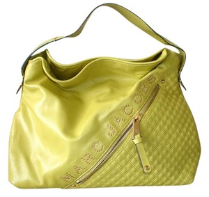 Marc Jacobs Chartreuse Large Hobo Bag