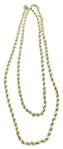 MONET Lengthy Monet gold-colored rope chain necklace