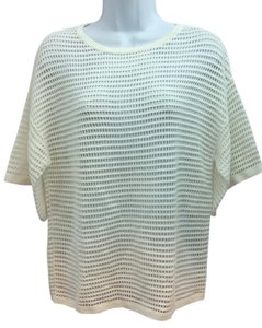 Trina Turk Knit Top WHITE