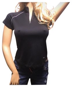 Cutter & Buck Black Fitness Yoga Top