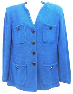 St. John Royal Knit BLUE Blazer