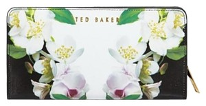 Ted Baker New Ted Baker Forget Me Not Popper Leather Wallet