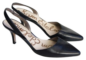 Sam Edelman Slingback Black Pumps