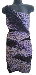 City Triangles Bodycon Animal Print One Party Club Dress