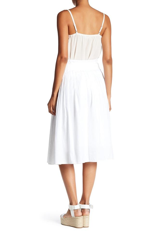 4e94f5f1a3 Vince White Vx58330381 Stitch Pleated Wrap Skirt Size 12 (L, 32, 33 ...
