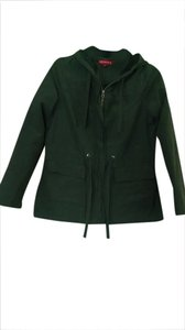 Merona Fall Spring Lightweight Dark Green Forest Jacket