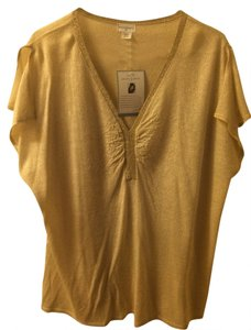 Jaclyn Smith Top Gold