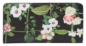 Ted Baker New Ted Baker Secret Trellis Matinee Leather Wallet