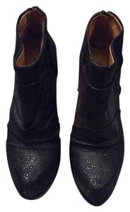 5/48 Leather Saks black Boots