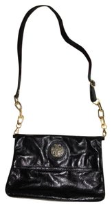 Tory Burch Leather Chain Exclusive Classic Gold Hardware Cross Body Bag