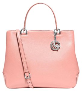 Michael Kors Anabelle Large Satchel in Pale Pink