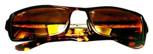 Maui Jim Maui Jim Shark Pit Tortoise/Bronze Sunglases, with HCL Polarized Lens