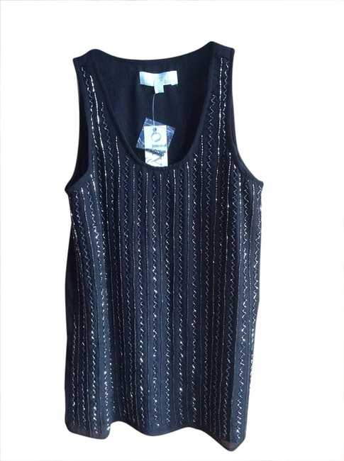 Preload https://img-static.tradesy.com/item/1726041/olive-oak-blacksilver-sequins-night-out-top-size-2-xs-0-0-650-650.jpg