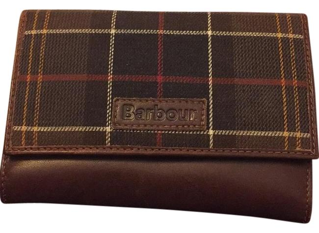 Item - Plaid/Brown Leather Wallet