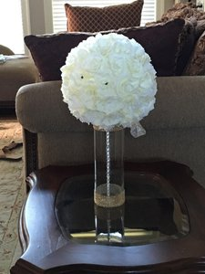7 Reception Table Centerpieces