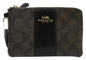 Coach Nwt F54629 Wristlet in Brown / Black
