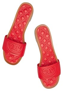 Tory Burch pepper red Platforms