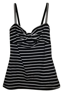 Forever 21 Top black and white stripe