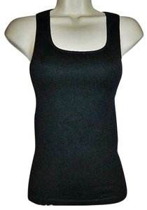 HeartSoul One Size Fits Most Sleeveless Layering Piece Top Black