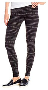 Betsey Johnson BETSEY JOHNSON LEGGINGS BLACK PRINT Leggings