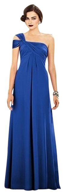 Dessy Sapphire 2881 Long Night Out Dress Size 4 (S) Dessy Sapphire 2881 Long Night Out Dress Size 4 (S) Image 1