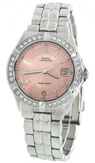 Preload https://item3.tradesy.com/images/guess-silverpink-new-women-s-g75791m-stainless-steel-quartz-with-dial-watch-172632-0-0.jpg?width=440&height=440