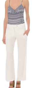 Veronica Beard Wide Leg Pants Ivory